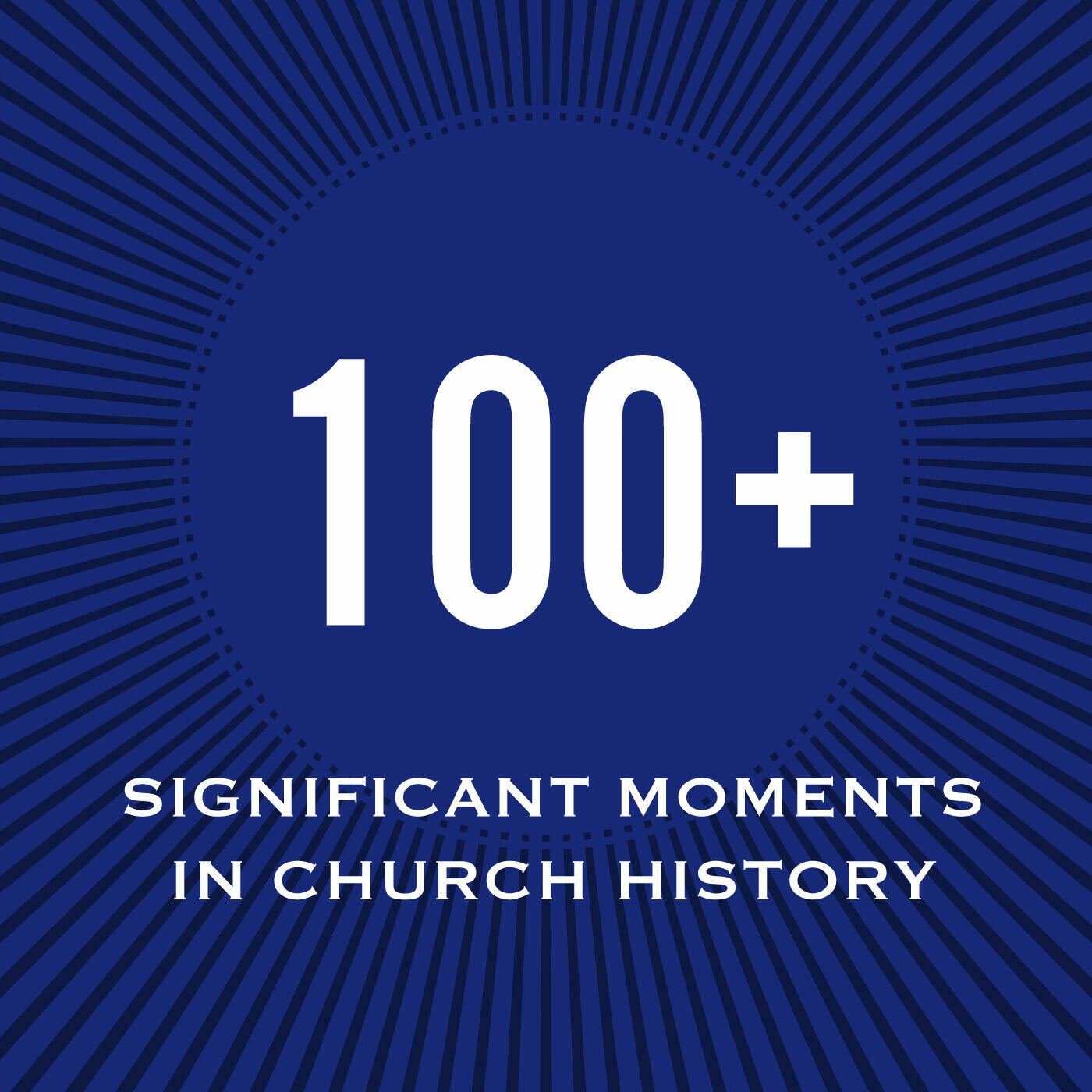100+ Significant Moments in Church History
