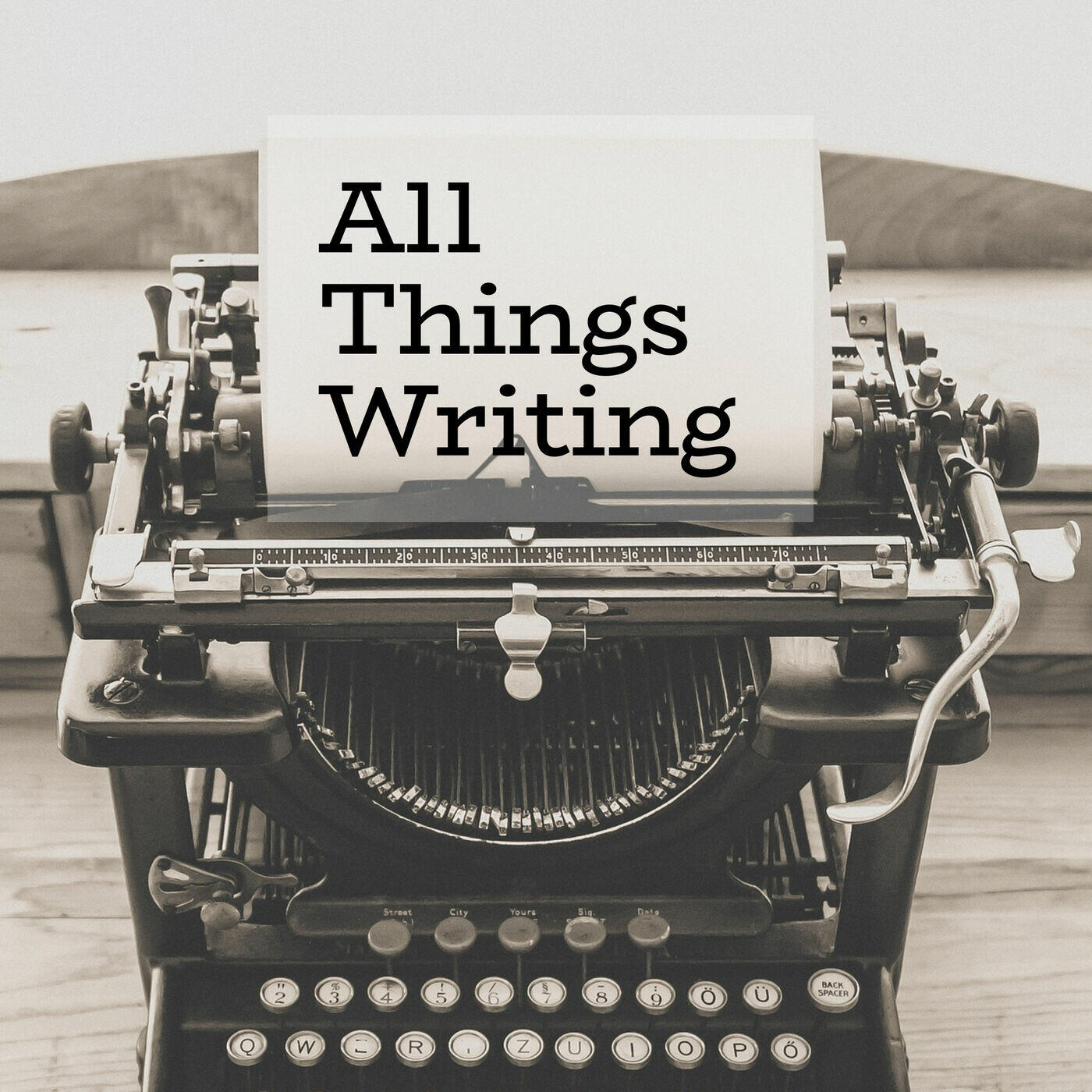 All Things Writing