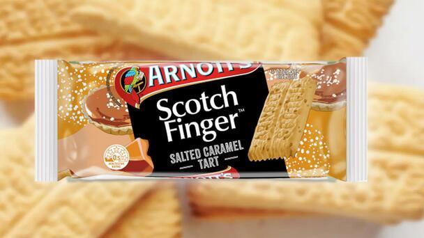 Arnott's Have Just Released Salted Caramel Tart Flavoured Scotch Finger ...