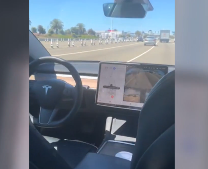 California Man Arrested For Sitting In The Backseat Of His Own Tesla
