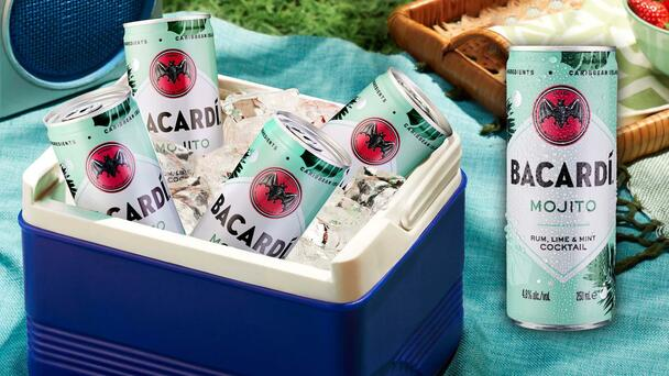 You Can Now Buy Ready To Go Bacardi Mojito Cocktails In A Can!