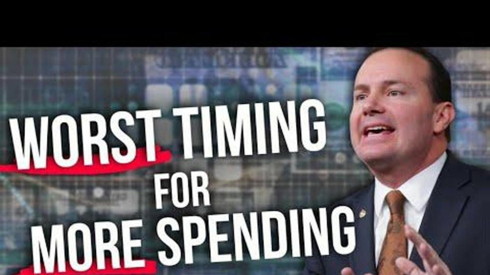 Sen. Mike Lee: $1.2 TRILLION bill furthers 'RECKLESS' government spending