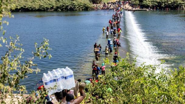 U.S. will reportedly fly Haitians to Haiti beginning on Sunday amid mass...