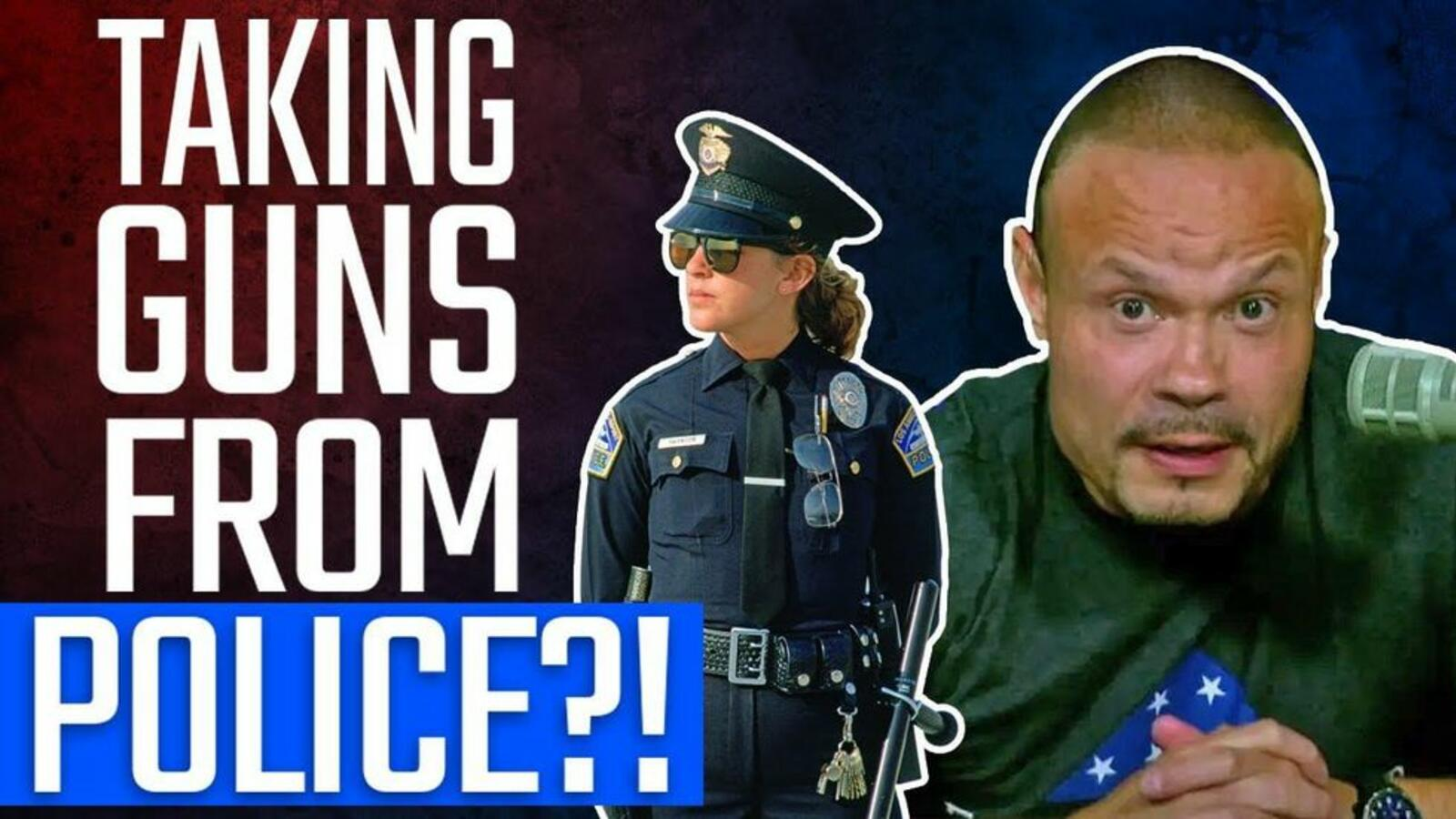 Dan Bongino SOUNDS OFF against latest 'STUPIDITY' on police & guns