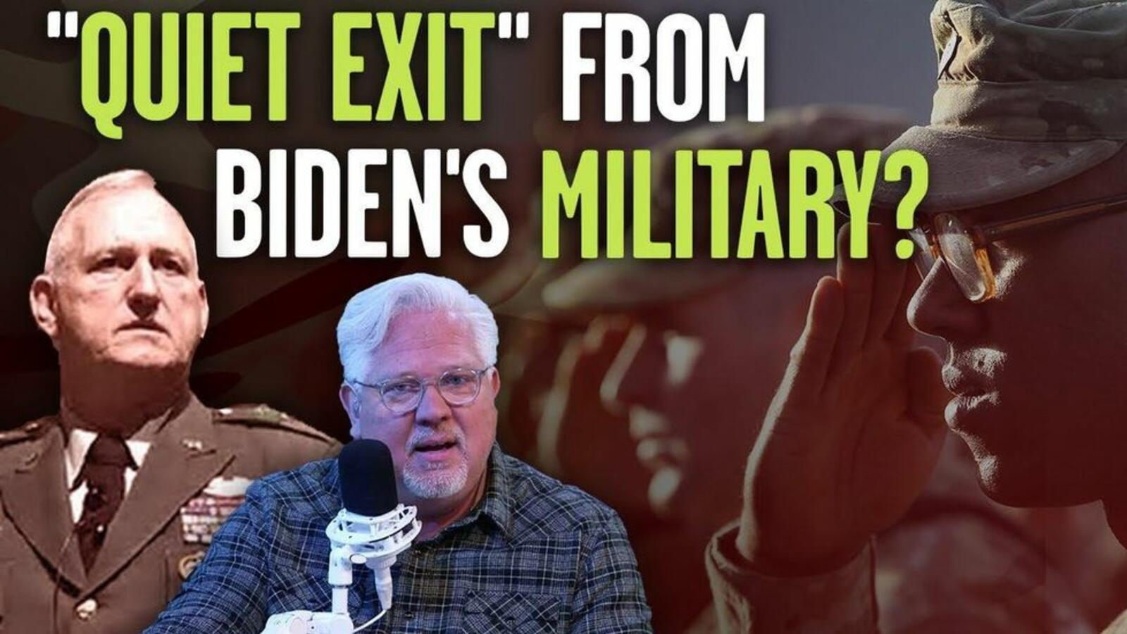 General predicts 'QUIET EXIT' of military members dissatisfied with far-...
