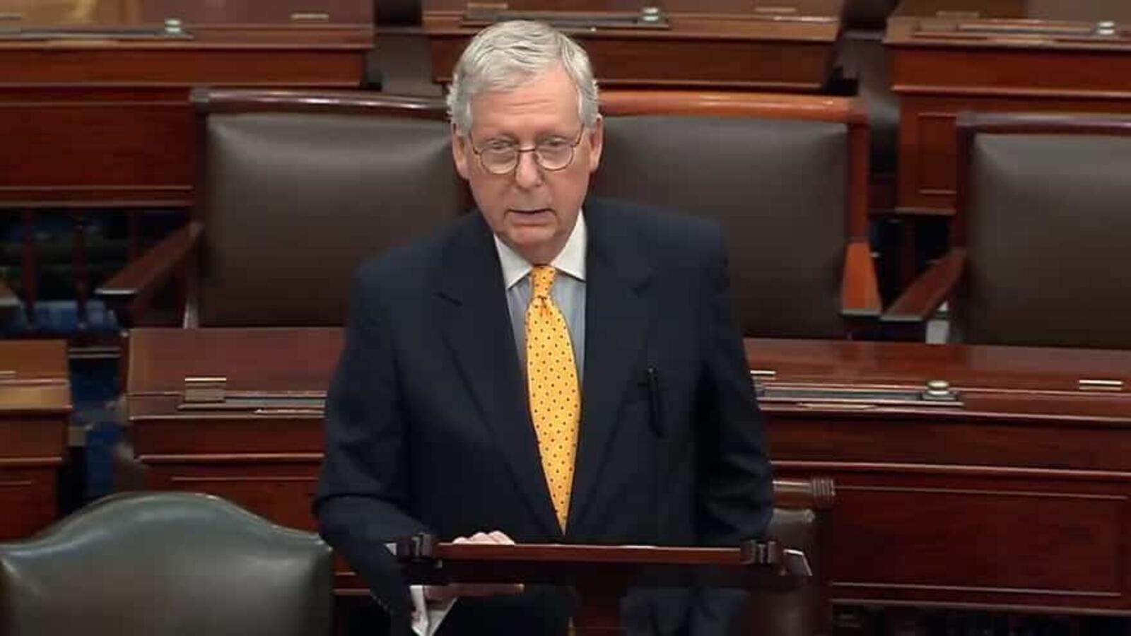 McCONNELL: Dems 'Borrowing, Spending, and Taxing at Dizzying Rates'