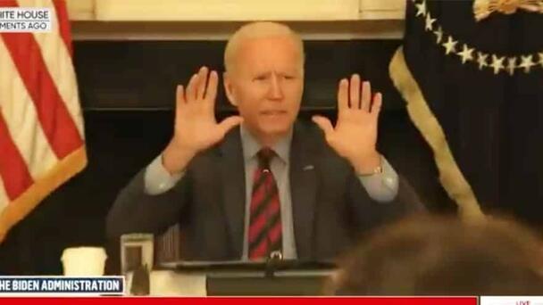 JOE SNAPS: President Biden Tells Reporters to 'Be Quiet'