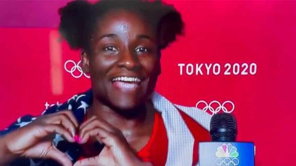 PATRIOT: American Wrestler Wins Gold, Says She 'Freaking Loves Living' i...