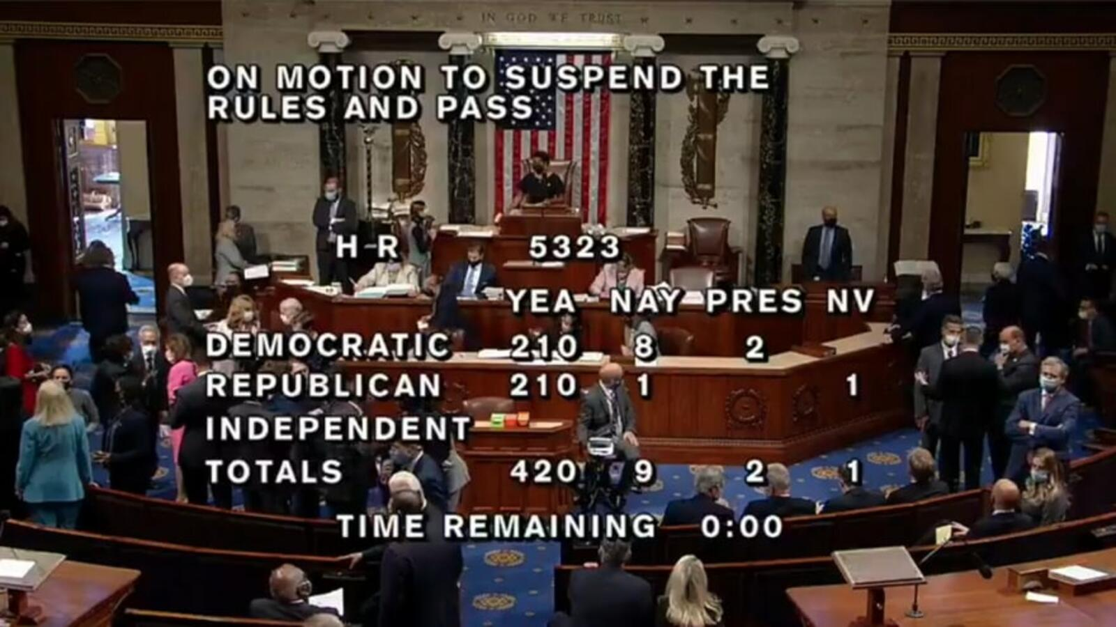 SQUAD FAILS: House Votes 420 to 9 to Provide $1 Billion in Aid for Israe...