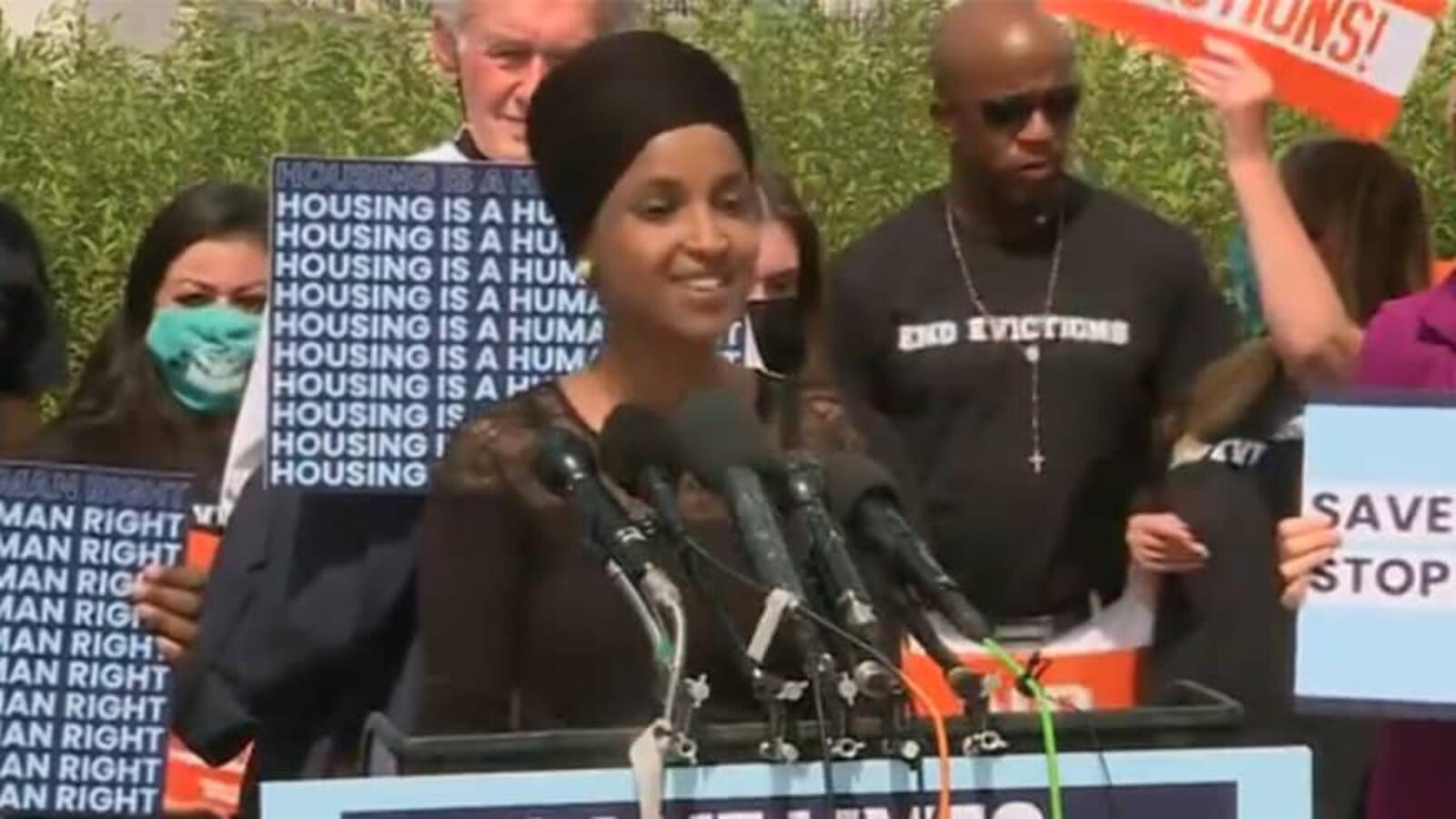 OMAR: No One in the Country Should Ever Be Evicted Because America Has '...