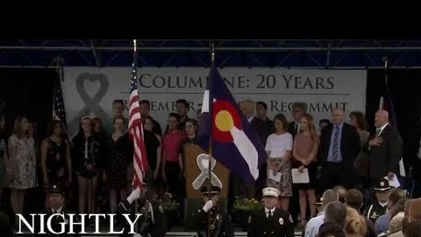 Colorado Pays Tribute To Columbine Victims, 20 Years Later