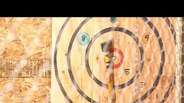 Portland Axe Throwing: Beers and axes, what could go wrong?!