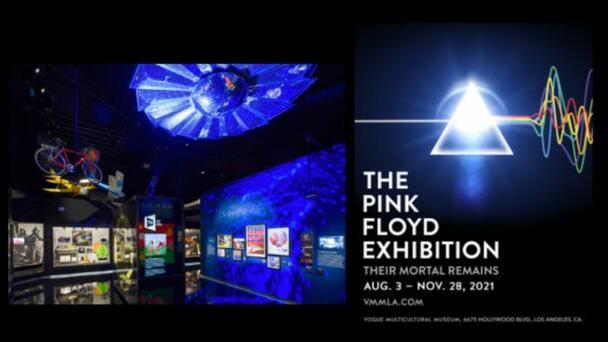 Expo de Pink Floyd: Como un túnel del tiempo en la historia de la banda