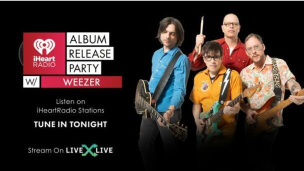 "Weezer celebra estreno de ""Van Weezer"" con streaming especial en iHeartR..."