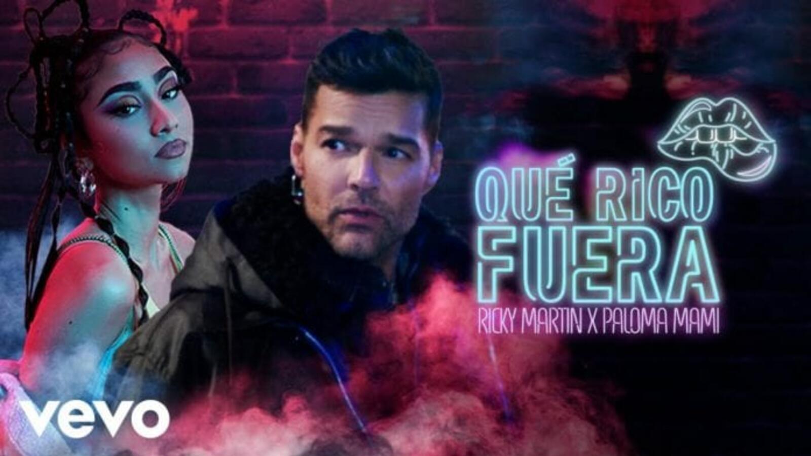 "Ricky Martin lanza ""Qué rico fuera"" en colaboración con Paloma Mami"