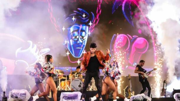 Cómo estuvo el concierto de Sebastián Yatra en Monterrey