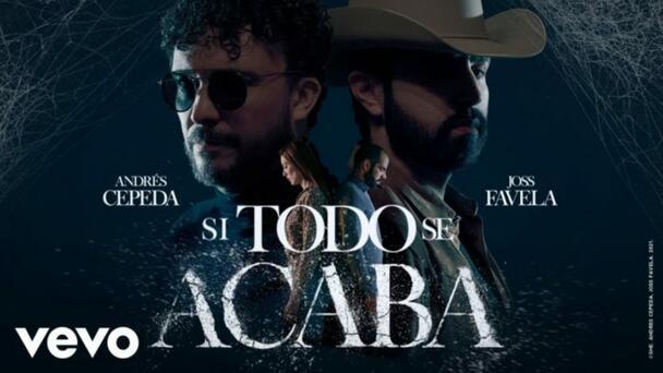 """Andrés Cepeda a dueto con Joss Favela en """"Si todo se acaba"""""""